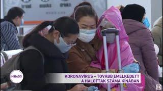 Koronavírus - tovább emelkedett a halottak száma