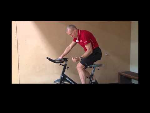 Proper Spin Bike Position - Peter Wimberg CSC Private Trainer