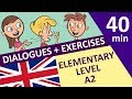 English elementary conversations with exercises A2 level | Incredible English 2 Elementary