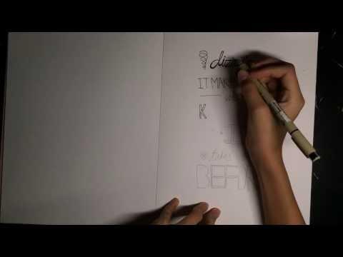 LYRICS ART: same mistakes by one direction