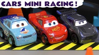 Cars Toys Mcqueen Mini Racing Florida 500 With The Funny Funlings Tt4u