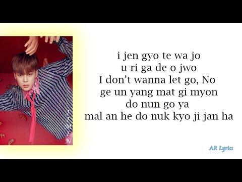 BTS JIMIN – 'SERENDIPITY' (Full Length Edition) Easy Lyrics