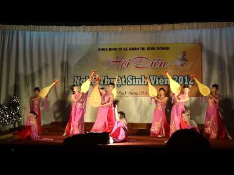 Múa Đàn Khúc Thiên Thai - K54QLDD - VFU