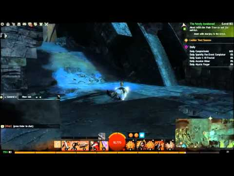 Guild Wars 2 (Gw2) - Garden of Ilya Vista | Malchor's Leap | Vista Spotter
