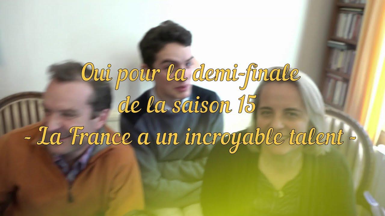 La Famille Lefevre En Demi Finale A La France A Un Incroyable Talent Youtube