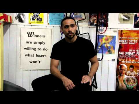 SidestepBoxing meets with Keith OneTime Thurman INTERVIEW PT 1