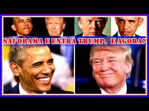 Obama & Trump - Balanço Do Governo Barack Obama e as Perspec
