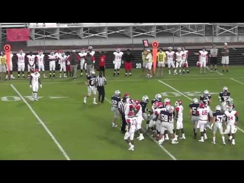 Lincoln Co. Red Devils vs. Stratford Academy Eagles - Football - 9/23/2016