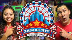 New Arcade City in Orlando Florida! - Arcade Fun