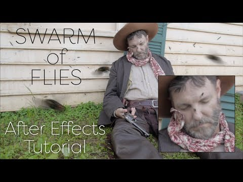 Swarms Easily Creates Flying Insects in After Effects