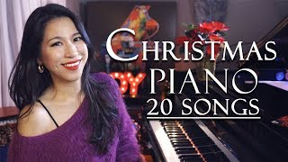 Christmas Carols Piano Medley 20 Songs with Improvisation