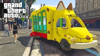 Video Um Ônibus um Pouco Diferente - GTA 5 Mods download MP3, 3GP, MP4, WEBM, AVI, FLV Juli 2018
