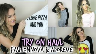 HUGE TRY ON HAUL: Fashion Nova & AdoreMe