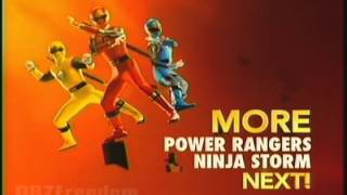 Nicktoons (U.S.) - Up Next! Power Rangers Ninja Storm _Aternate Bumper 2 (2012)