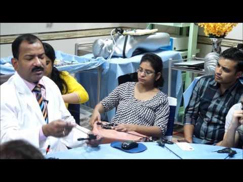 Laparoscopic Hand Instrument Demonstration Part  3 By Dr R K Mishra
