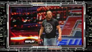 WWE RAW 24.10.2011 Кевин Нэш травмировал Игрока.545TV