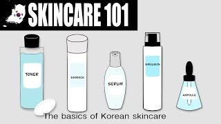 Korean Skincare 101 | Essence - Emulsion - Ampoule