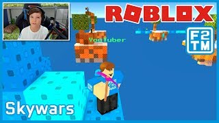 Bau eines Hauses in Roblox Skywars Challenge!!! | Fraser2TheMax | Roblox Kid Gamer