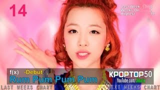 (August 2, 2013) Korea K-POP Hot100 Top50