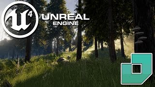 Unreal 4 : LowPoly Forest