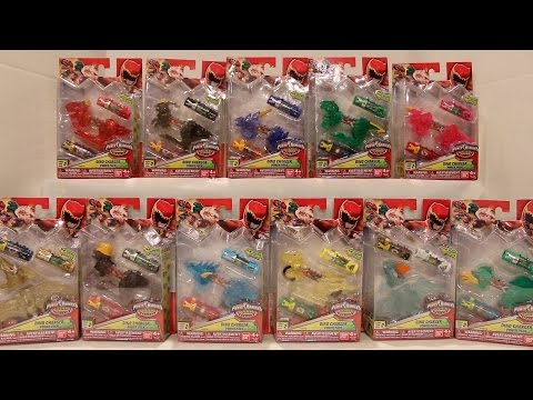Dino Charger Power Packs Series 2 Review [Power Rangers Dino Charge]