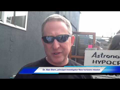Dr. Alan Stern - principal investigator New Horizons mission