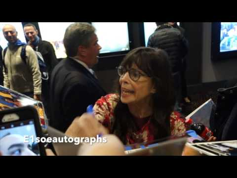 Talia Shire signing autographs  Yo Adrian' Rocky Balboa  The Godfather