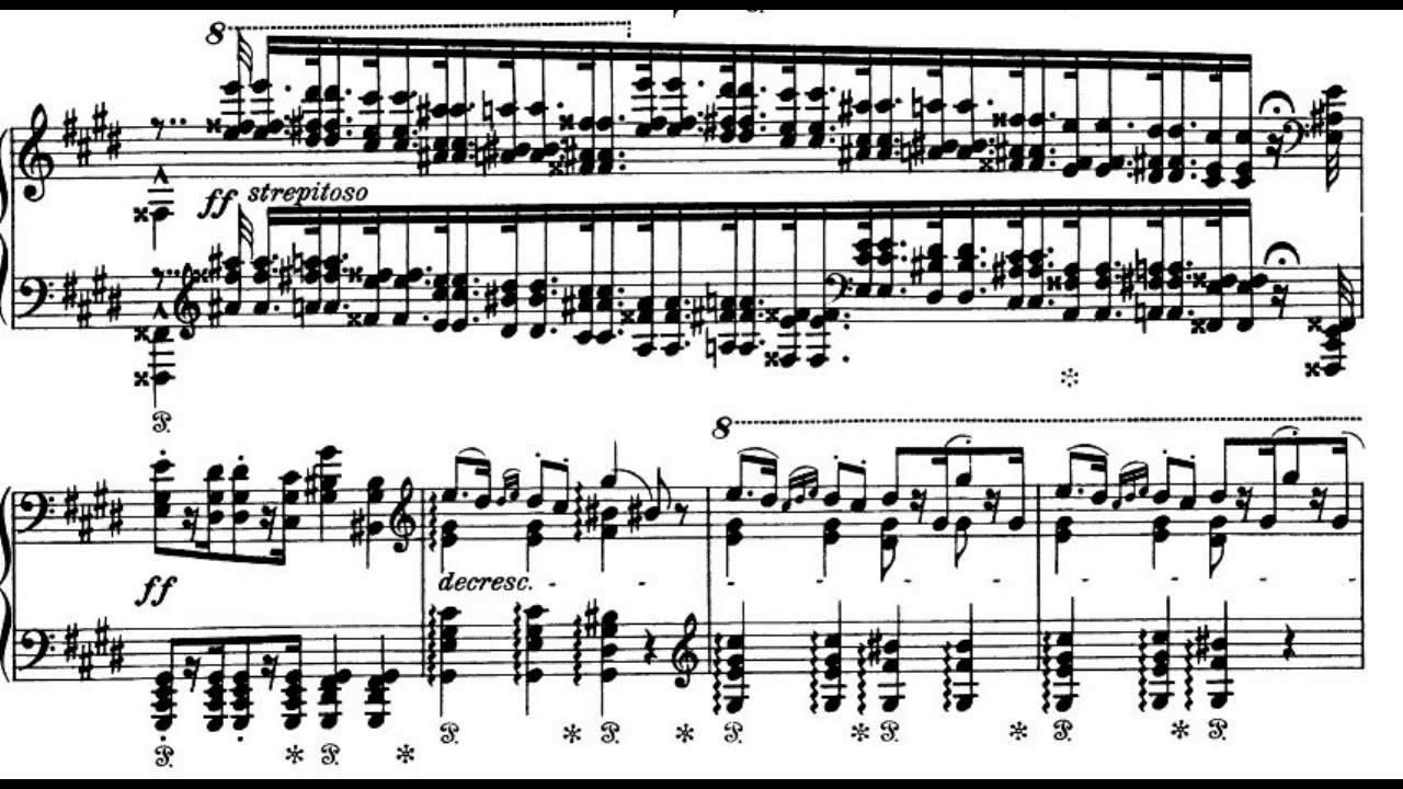 Liszt Hungarian Rhapsody No 12 Audio Sheet Cziffra Youtube