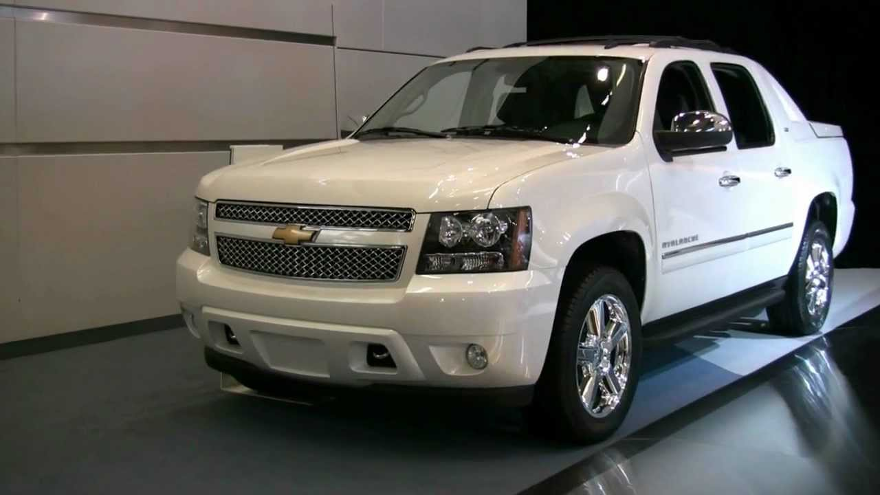 2012 Chevrolet Avalanche Exterior And Interior At 2012