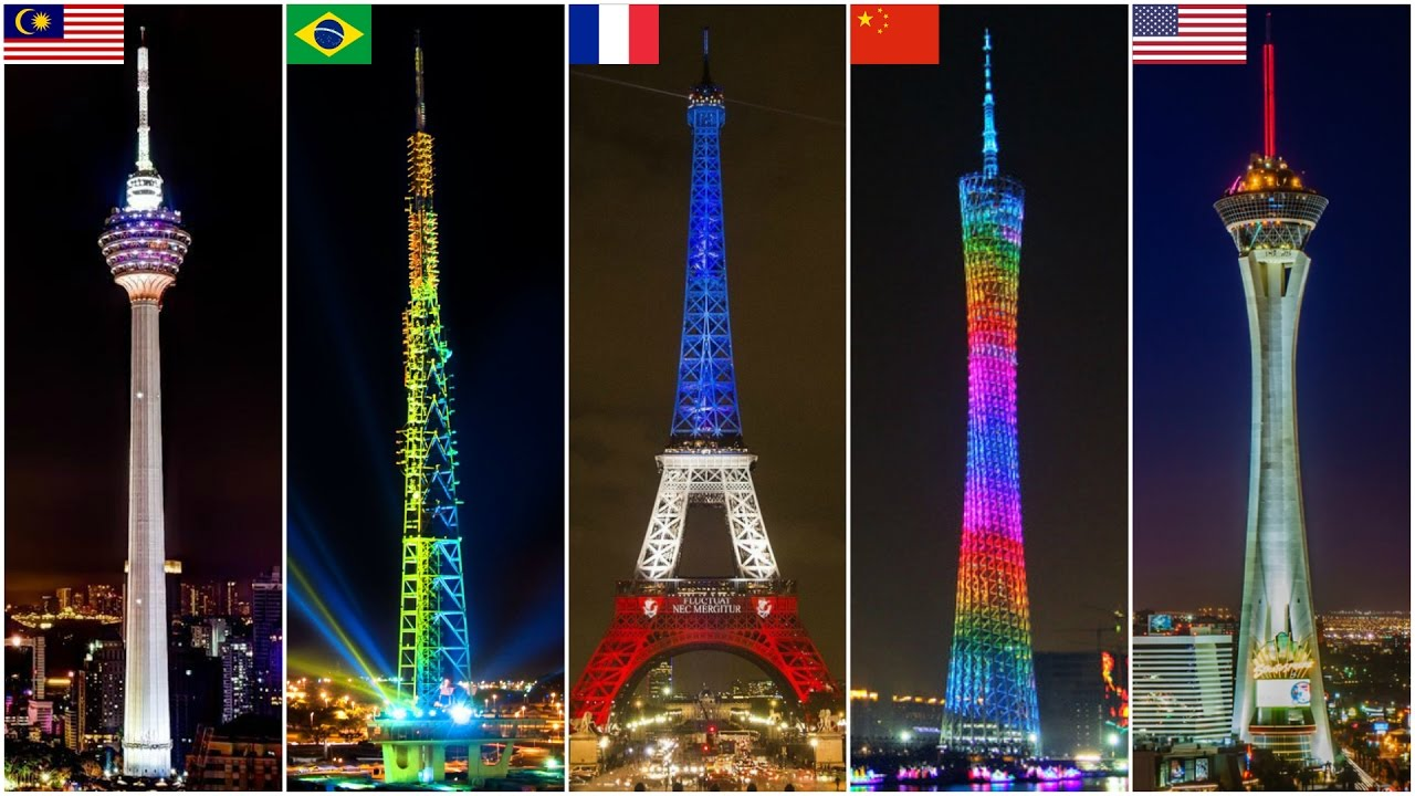 The highest towers in the world 15