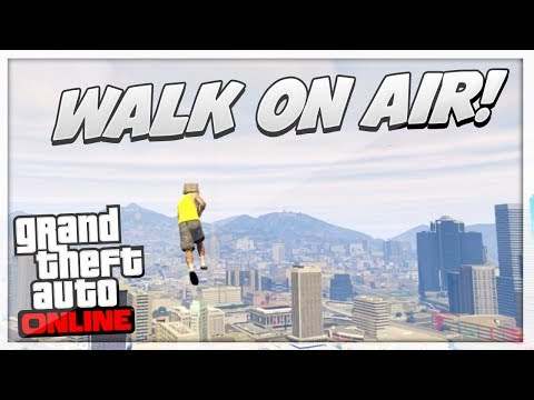 GTA 5 Glitches: Walk In MID AIR Glitch + Secret Stairway Of Heaven Glitch Online!