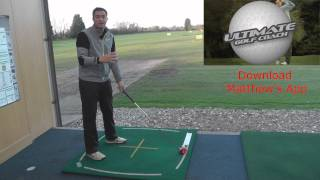 A simple golf drill to help you draw your tee Shot