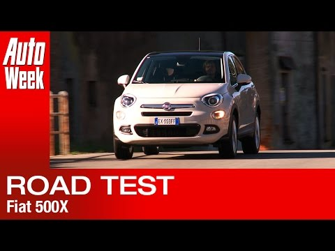 Fiat 500X road test English subtitled