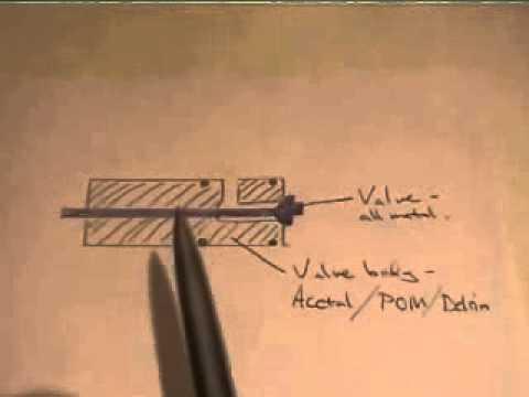 DIY pcp air gun valve design wmv