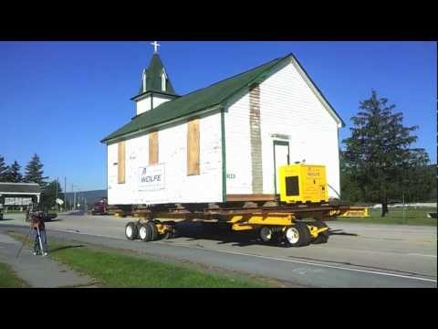 Fort Indiantown Gap Chapel Move