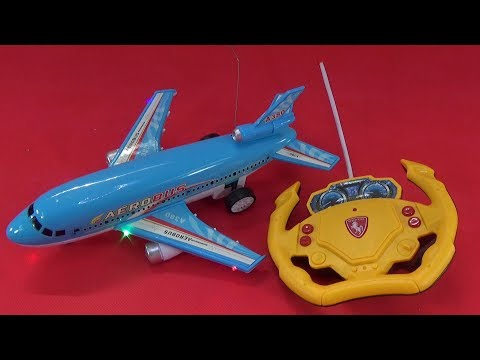UNBOXING BEST TOYS: Remote control plane  aircraft toy surprise gift for kids