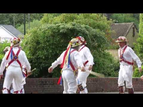 Gloucestershire Morris dancing in the Mortimer Gardens