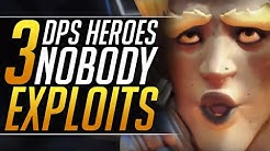 3 HEROES You MUST EXPLOIT - Best Meta Tips and Tricks to HARD CARRY | Overwatch DPS Guide