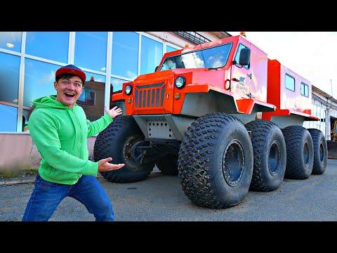 Купили снегоболотоход на аукционе за 6 миллионов рублей!