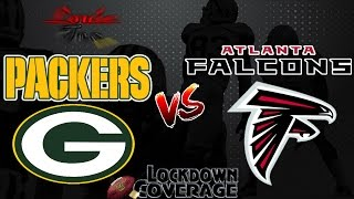 NFL Football 2016 Recap: Packers vs. Falcons (Week 8) (Lockdown Coverage)  #LouieTeeLive