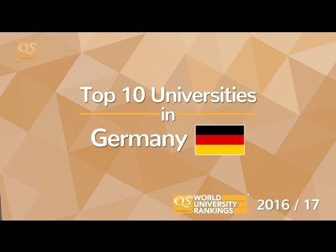 Top 10 Universities in Germany 2016/17