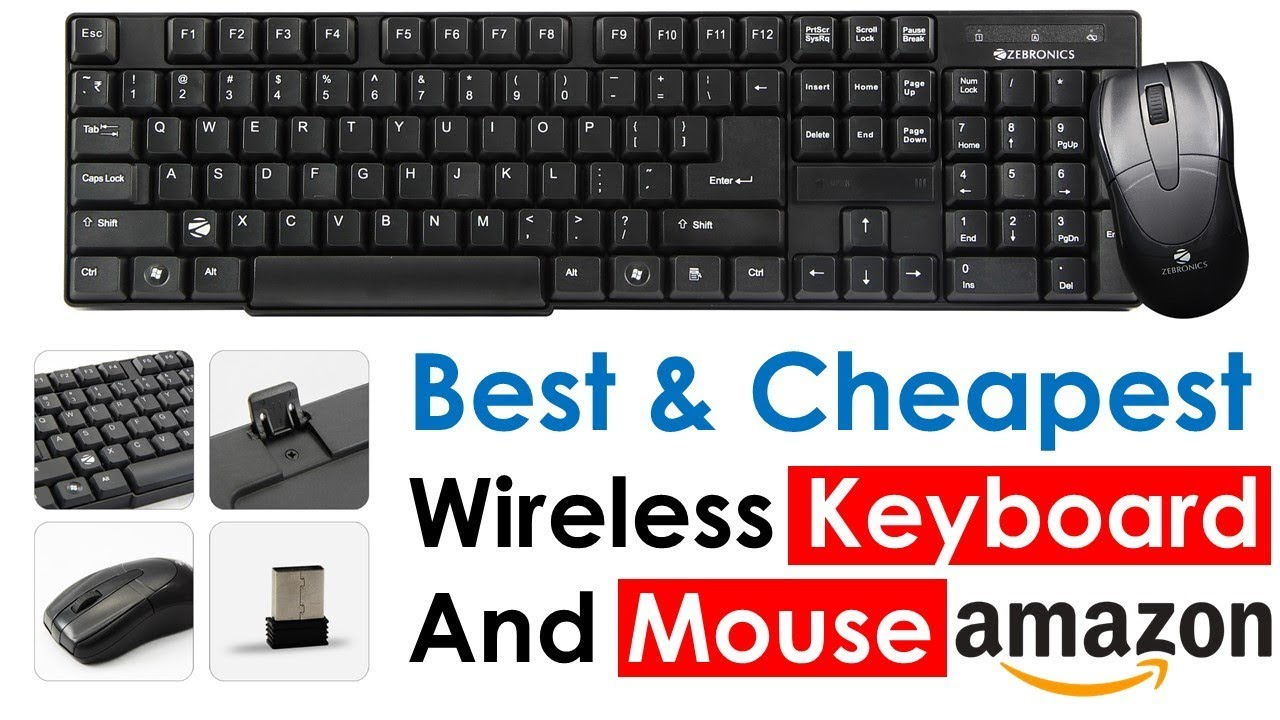 f0939efd05e Cheap and Best Wireless Keyboard and Mouse - YouTube