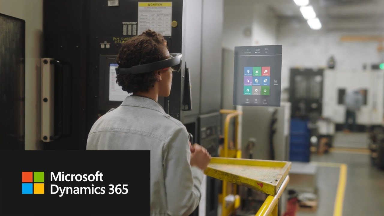 Microsoft's Dynamics 365 business applications for HoloLens