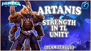 Grubby | Heroes of the Storm - Artanis - Strength in TL Unity - TL - Tomb of The Spider Queen