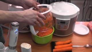 Кухонный комбайн REDMOND RFP-3903 и морковка.MTS