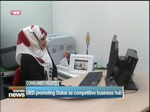DED promoting Dubai as competative business hub