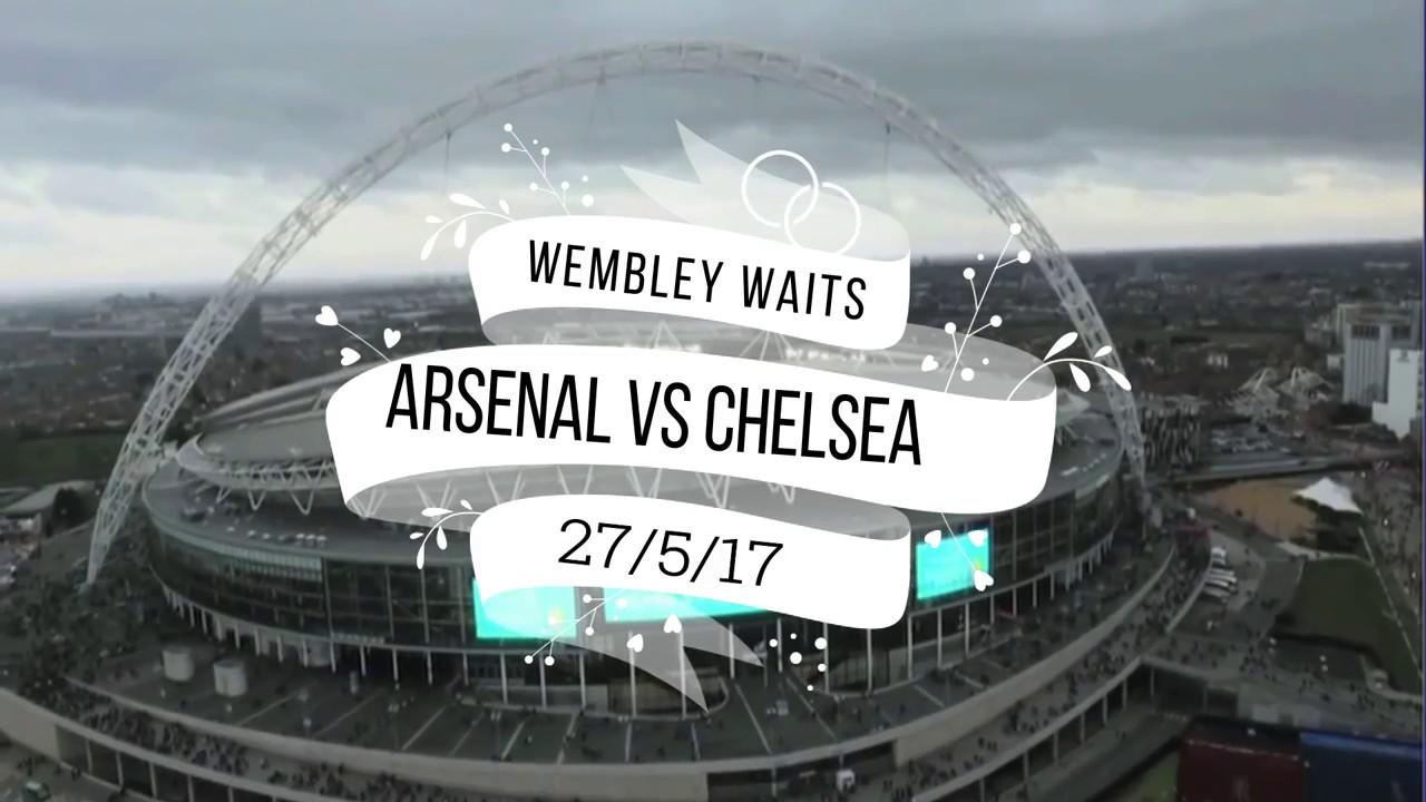 "Download Arsenal vs Chelsea FA Cup Final 2017 Promo ""Wembley Waits"""
