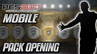 PES 2017 MOBILE PACK OPENING|THE GREAT SWEDE?!