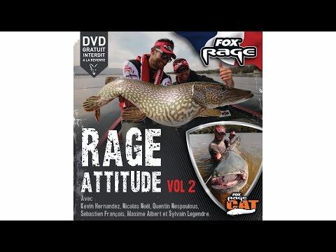 ***FOX RAGE TV*** RAGE ATTITUDE Vol 2 Pêches aux Leurres & Silures