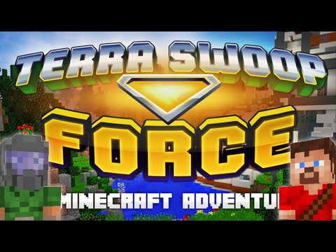 Minecraft 1.9: Terra Swoop Force (Epic Elytra Flight Game)